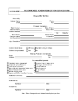 Suggested forms letters and wordings claim professionals request for service form sample spiritdancerdesigns Gallery