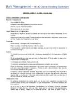 General Liability – Another View